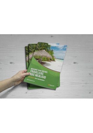 Multipurpose Bifold Trifold Brochure