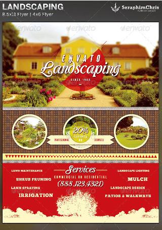 Multipurpose Landscaping Flyer
