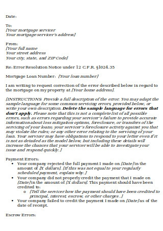 Payer Rejection Letter