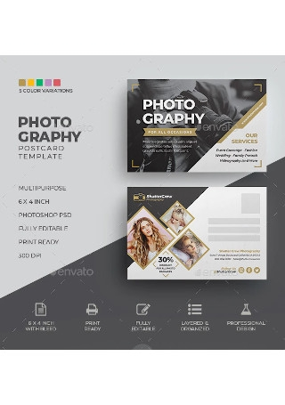 Photography Postcard