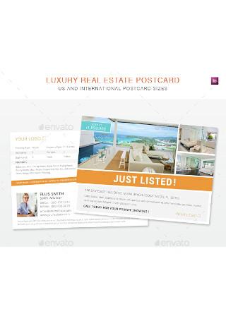Real Estate Postcard Sample