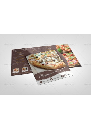 Restaurant Menu Mock Ups
