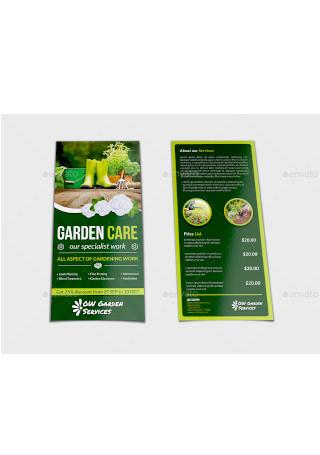 Sample Garden Services Flyer