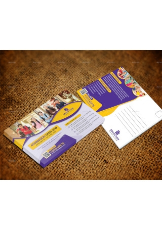 School Education Post Card