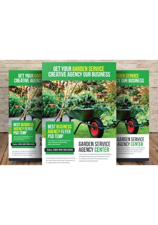 Simple Garden Services Flyer