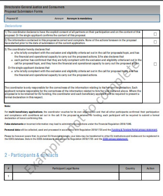 Standard Proposal Template