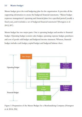 Startup Master Budget