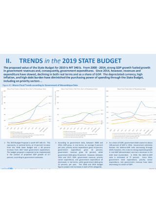State Budget Proposal