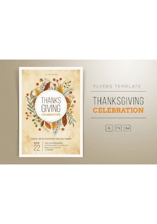 Thanksgiving Flyers