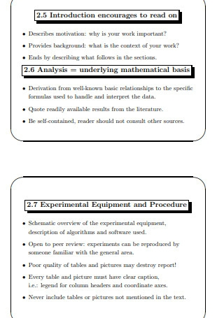 The Formal Technical Report