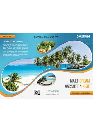 Travel Agency 3 Fold Brochure
