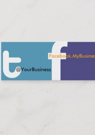 Tweet U Right Business Card