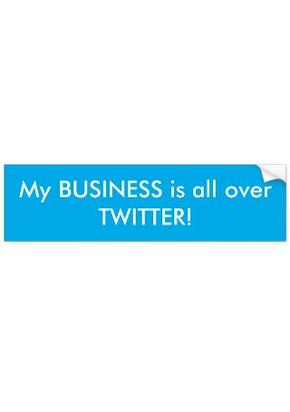 Twitter Business Sticker