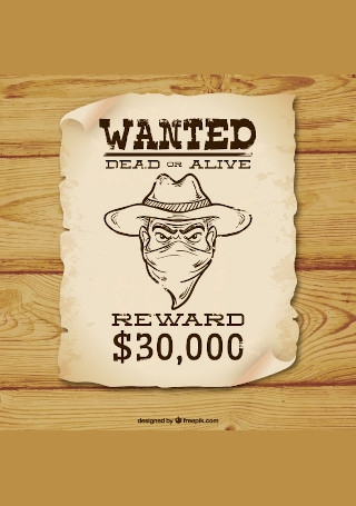 wanted poster featured