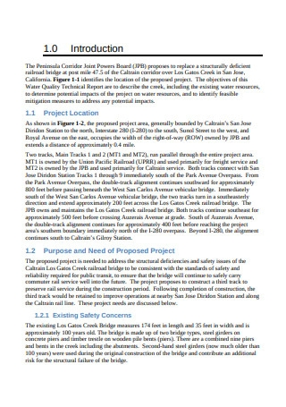 Water Quality Technical Report
