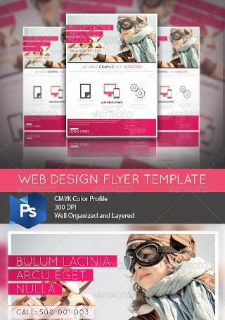 Web Design Business Flyer