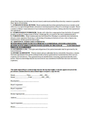 Addendum to Contract