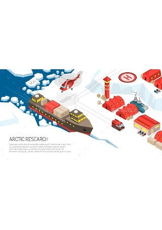Arctic Research Polar Station Poster