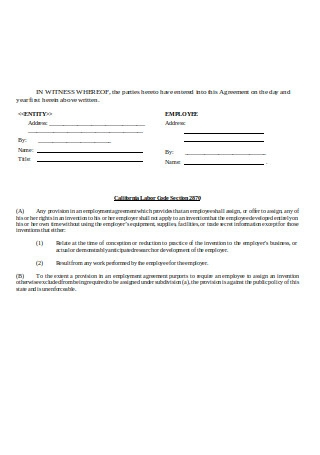 Assignment Agreement Sample