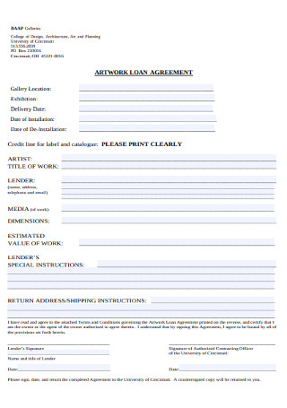 Atwork Loan Agreement