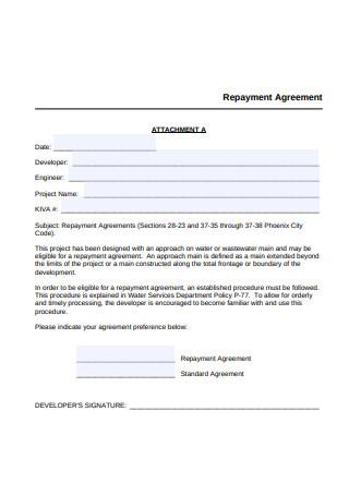 Basic Repayment Agreement