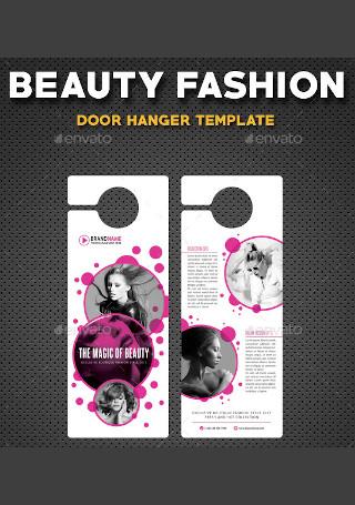 Beauty Fashion Door Hanger