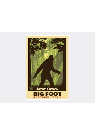 Big Foot Shadow Research Poster