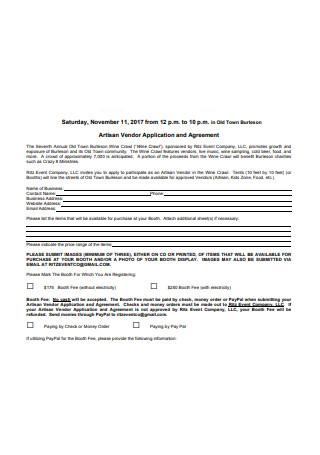 Booth Salon Rental Agreement Format