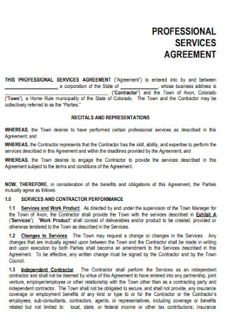 Business Service Agreement