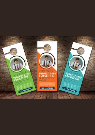 Business Solutions Door Hanger
