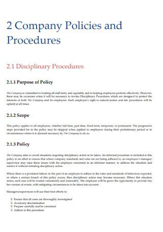 Company Employee Handbook