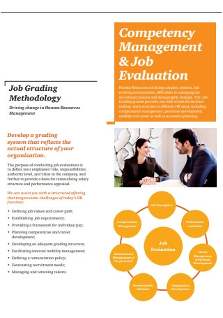 Competency Management Job Evaluation