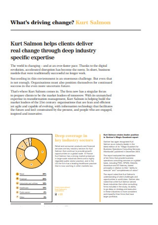 Consulting Annual Report