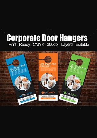 Corporate Door Hangers