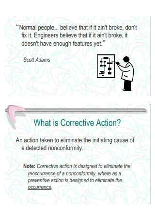 Corrective Action and Root Cause Analysis