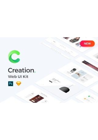 Creation UI Web Kit Page