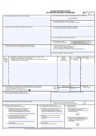 Custom Invoice Template