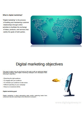 Digital Marketing Proposal in PPT
