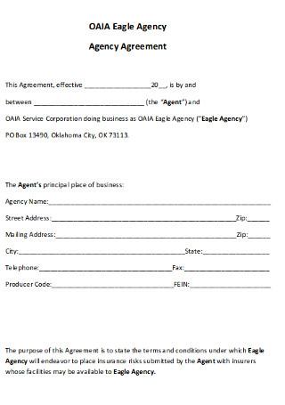 Eagle Agency Agreement