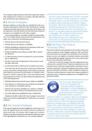 Effective Employee Handbook