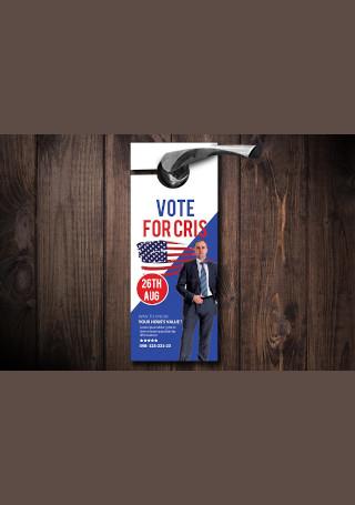 Elections Door Hanger