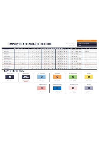 Employee Attendance Record