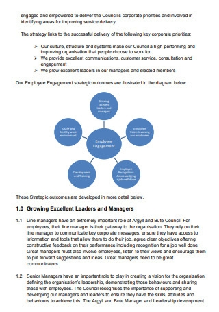 Employee Engagement Strategy Draft
