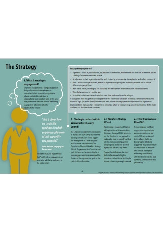 Employee Engagement Strategy Sample