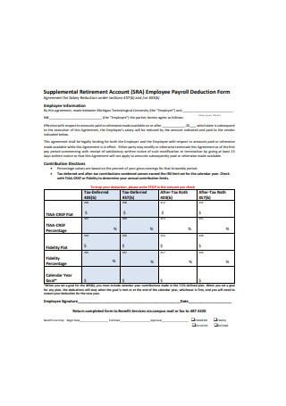 Employee Payroll Deduction Form1