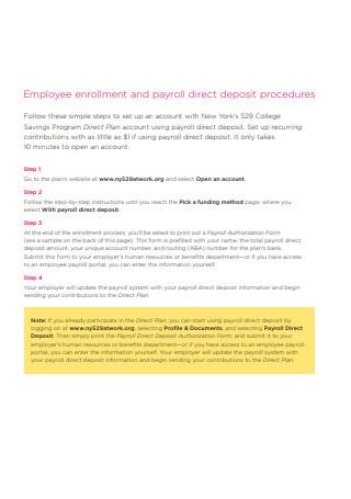 Employee Payroll Example