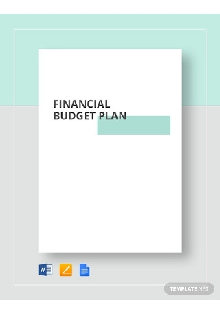 Financial Budget Plan Template