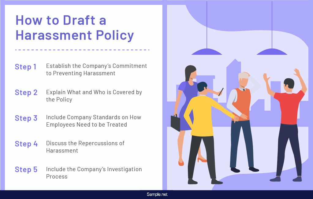 harassment-policy-employee-handbook-sample-net-01