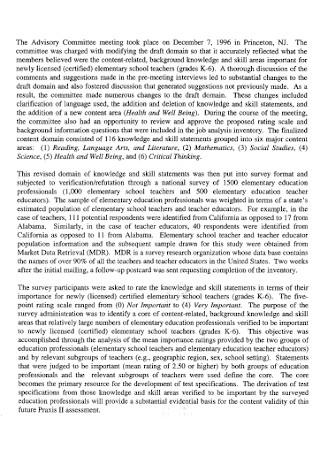Job Analysis Research Report