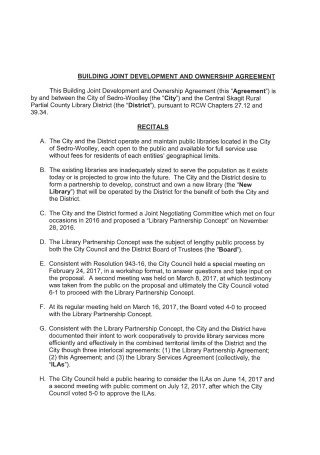 Joint Ownership Agreement Format